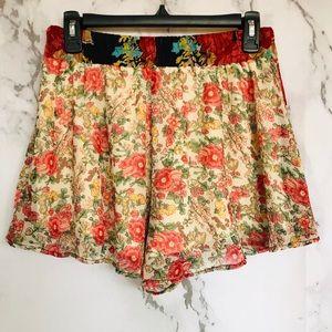Band of Gypsies Shorts - Band of Gypsies/ Floral/ Bohemian Shorts